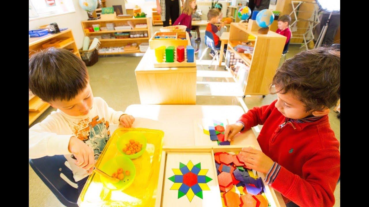 Mầm non Montessori - giáo dục kỹ năng sống cho trẻ